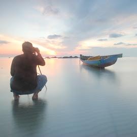 sunrise by Tommy Marwan - People Portraits of Men