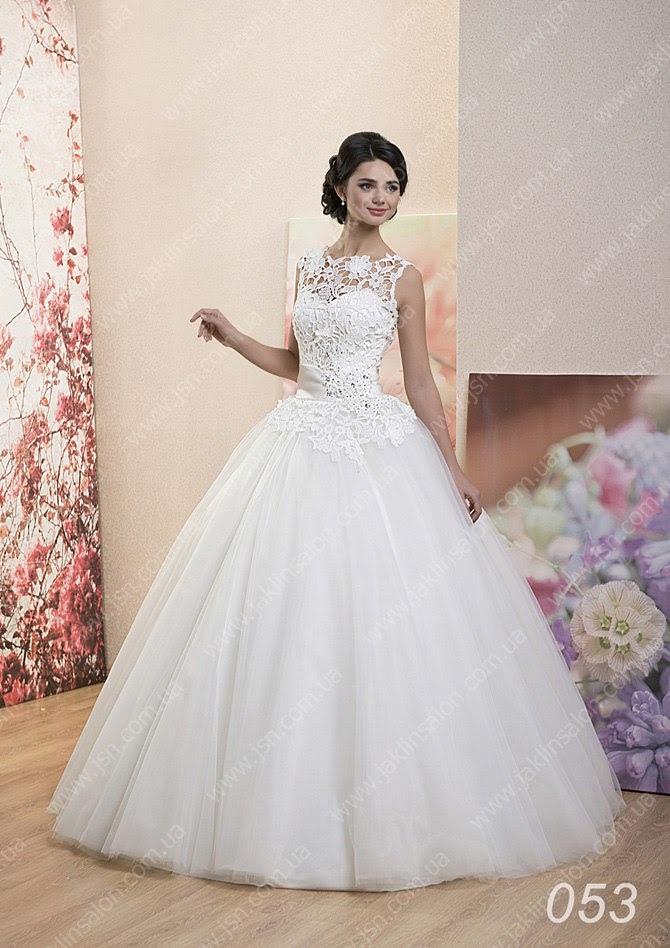 Красивый верх свадебного платья