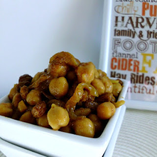 Simple Moroccan Chickpeas