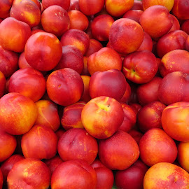 Peach Time by Michael Villecco - Food & Drink Fruits & Vegetables (  )