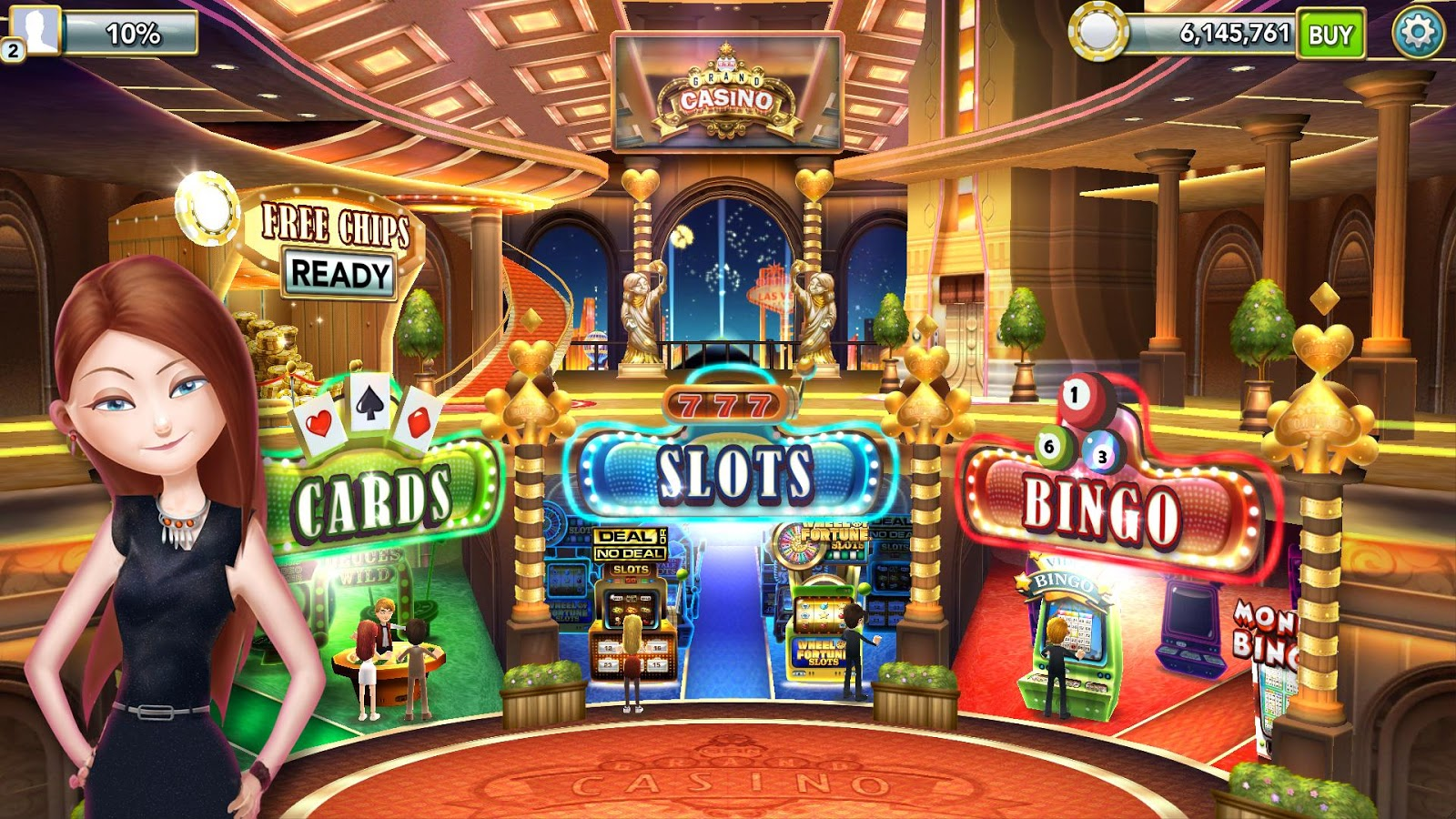 GSN Grand Casino - FREE Slots Screenshot 11