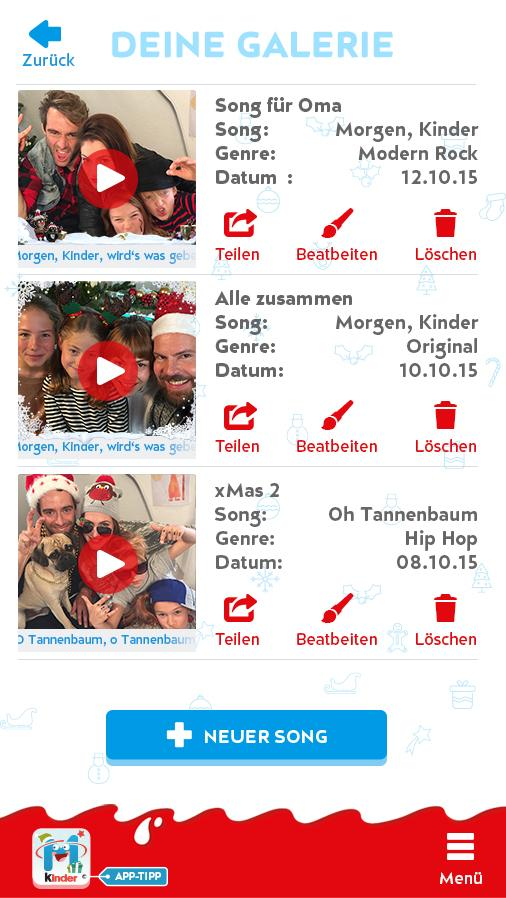 kinder Karaoke – Xmas Edition Screenshot 4