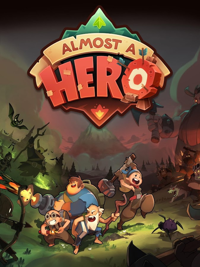 Almost a Hero - RPG Clicker Game with Upgrades Screenshot 18