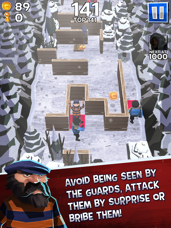 Winter Fugitives Screenshot 15