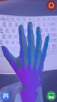 Screenshot of X-Ray Vision Prank