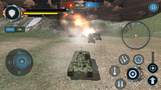 Tank World War APK for Blackberry