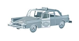 """Сборная модель """"3D Metal Puzzle"""" Такси L"""
