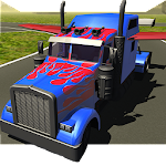 Flying Car : Transformer Truck 2 Apk