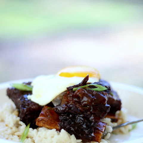 Sticky Ginger Beef Short Ribs