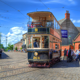 Beamish Tram HDR by Em Ell - Novices Only Street & Candid ( hdr )