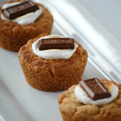 S'more Cookie Cups