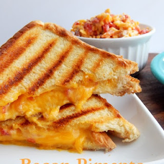Bacon Pimento Grilled Cheese-Best Grilled Cheese Recipe Ever!