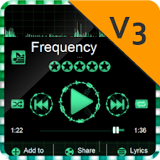 Frequency PlayerPro Skin
