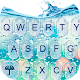 Water Keyboard - Blue Glass Water Keyboard Theme APK