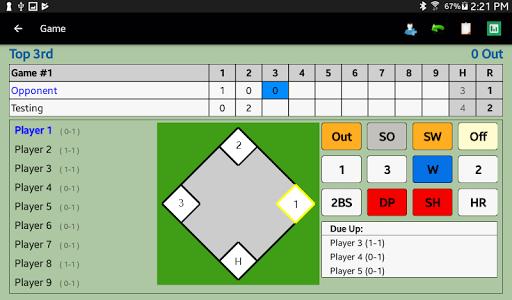 Dartball Statistician screenshot 9