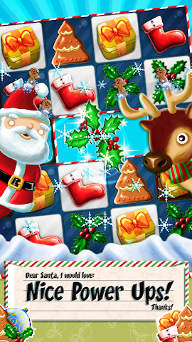 android Xmas Swipe Screenshot 1