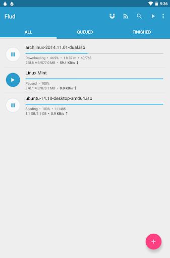 Flud - Torrent Downloader screenshot 9