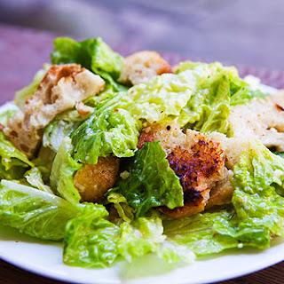 Baked Caesar Salad Recipes