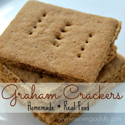 Homemade, Real Food Graham Crackers