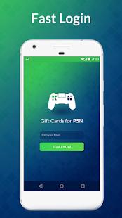 Free Gift Cards for PSN APK for Bluestacks