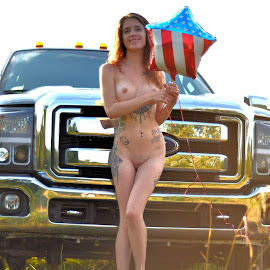 Freedom! by Allen Chung - Nudes & Boudoir Artistic Nude ( july4th, allenchung, emilycarr, undecidedstudios, allen chung )