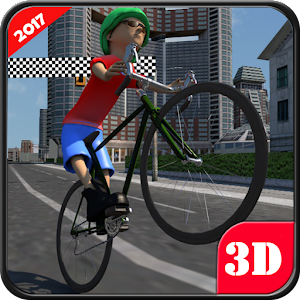 Bicycle Traffic Racing Rider