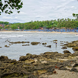 Ranca Buaya Beach by Mulawardi Sutanto - Landscapes Beaches ( garut, west java, ranca buaya, beach, travel )