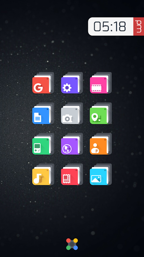 Crispy - Icon Pack(SALE!) Screenshot 2
