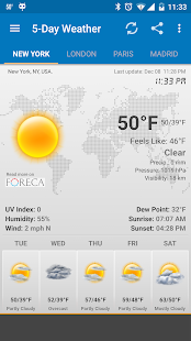 App Weather & Clock Widget Android APK for Windows Phone