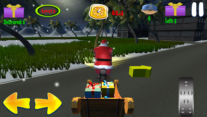 android Santa Rider Screenshot 3