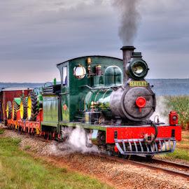 Lawley Locomotive Sandstone Estates by Aidan McCarthy - Transportation Trains