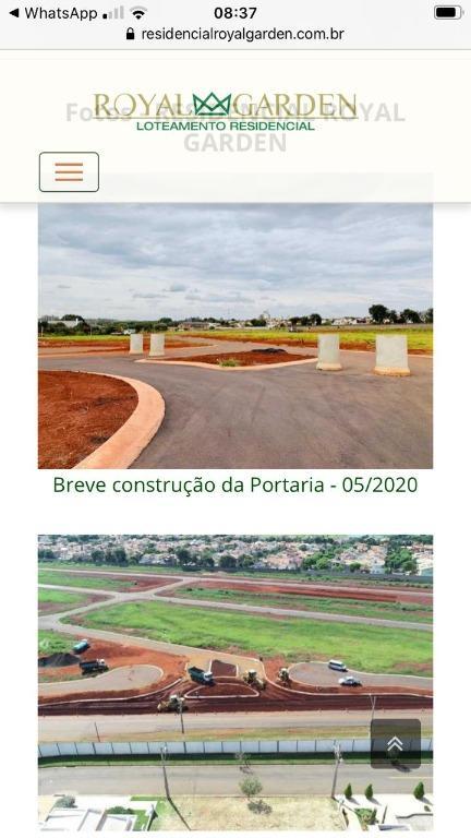 Terreno à venda, 300 m² por R$ 246.000,00 - Parque Brasil 500 - Paulínia/SP