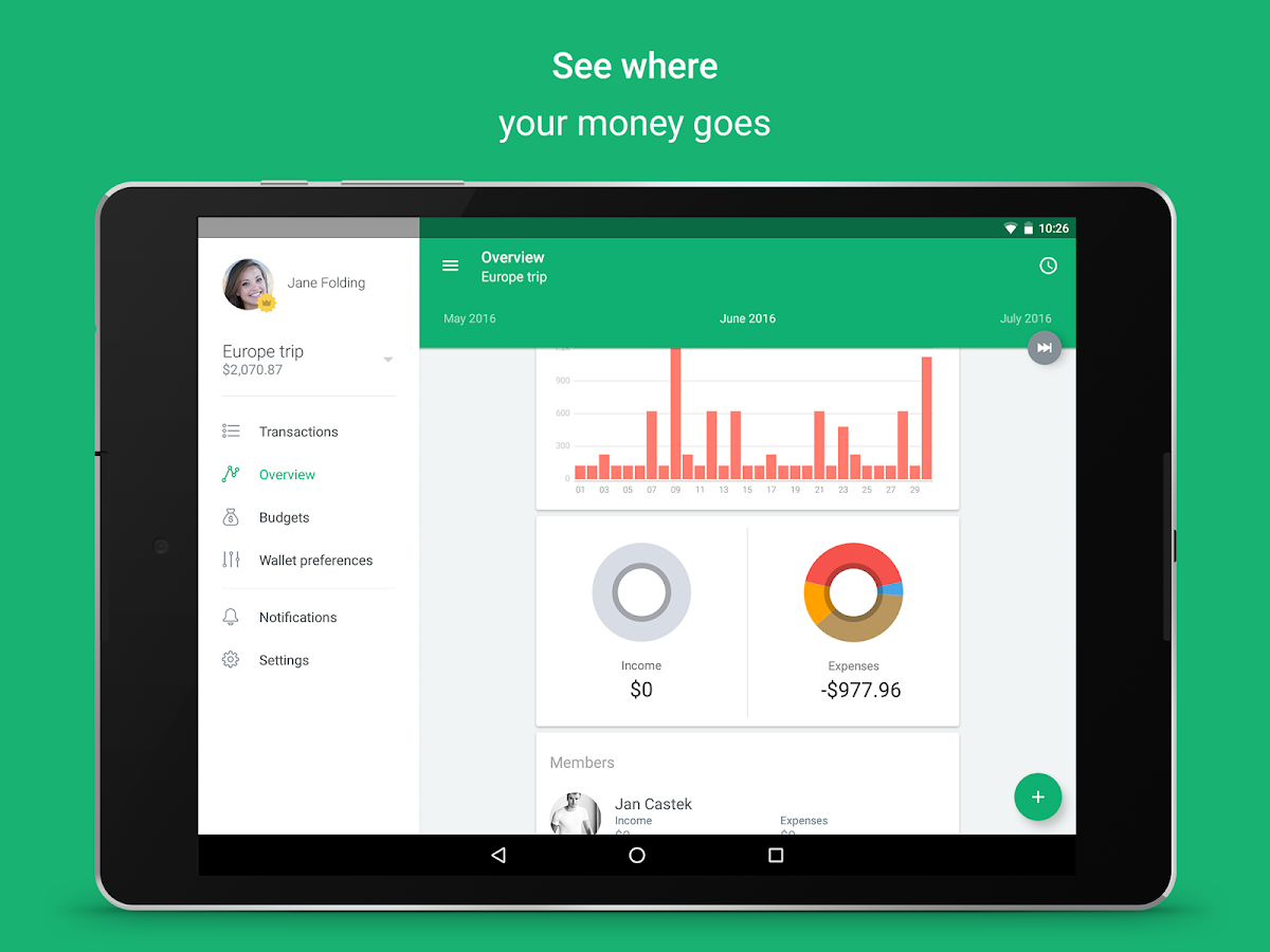 Spendee - budget and expense tracking & bank sync Screenshot 5
