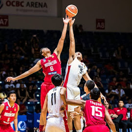 Singapore vs Indonesia by Kenneth Mok - Sports & Fitness Basketball