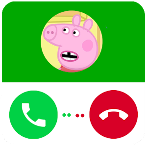 Download Fake Call  Peppa Pig Prank for Android - Free Casual Game for Android