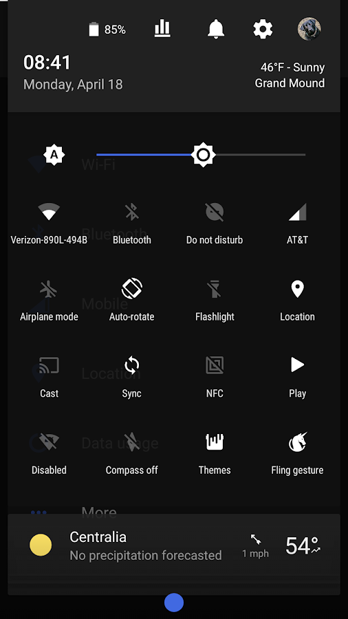 Dark Royal - CM12 / CM13 Theme Screenshot 4