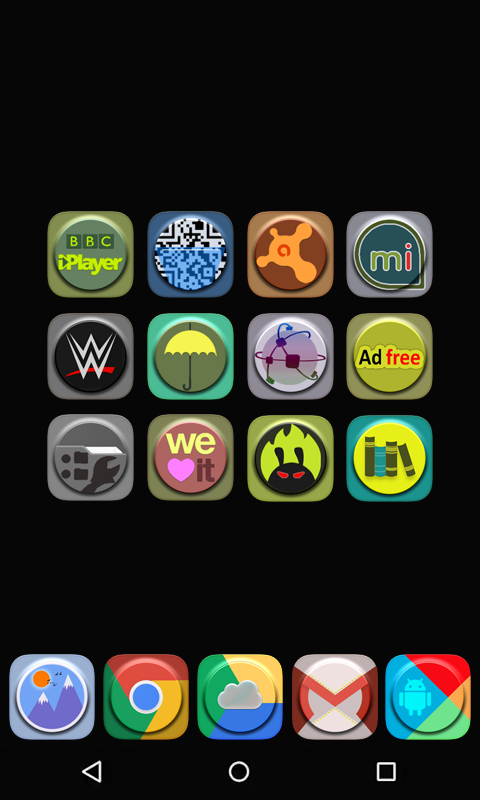 A-One icon pack Screenshot 4