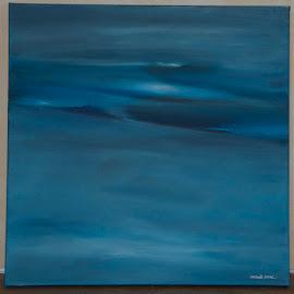 Een landschap van water by Kris Van den Bossche - Painting All Painting