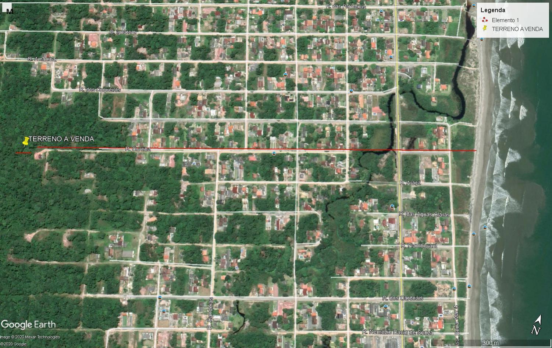 Terreno à venda, 726 m² por R$ 45.000,00 - Praia do Imperador - Itapoá/SC