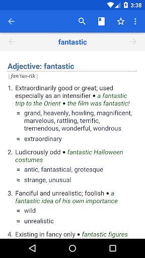 Dictionary - WordWeb screenshot 1