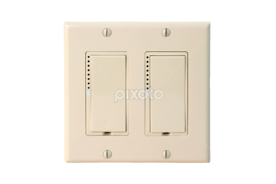 Wall Switch by Henrik Lehnerer - Products & Objects Technology Objects ( interior, home, technology, plastic, fixture, residential, indoors, equipment, switch, object, push, business, modern, toggle, button, conservation, power, on, electricity, light, control, isolated, turn, building, household, electric, plate, white, wiring, electronic, electrical, lighting, voltage, device, off, mounted, wall, energy, design, room )