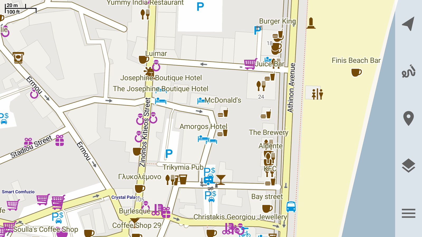 Trekarta - offline maps for outdoor activities Screenshot 10
