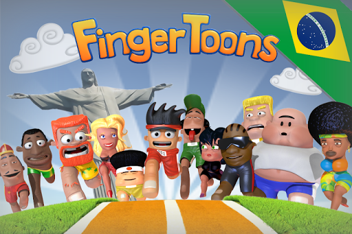 Finger Toons Rio 2016 - screenshot