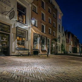 Historic city centre Deventer by Henk Smit - City,  Street & Park  Street Scenes