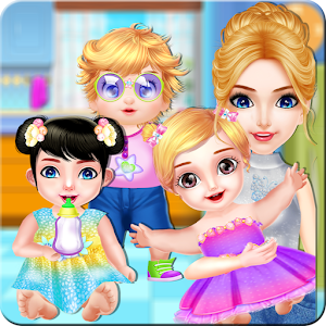 Babysitter Baby Care Fun Job * Babysitting for Kid For PC (Windows And Mac)