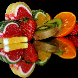 fruits with candys by LADOCKi Elvira - Food & Drink Fruits & Vegetables ( fruits.candys )