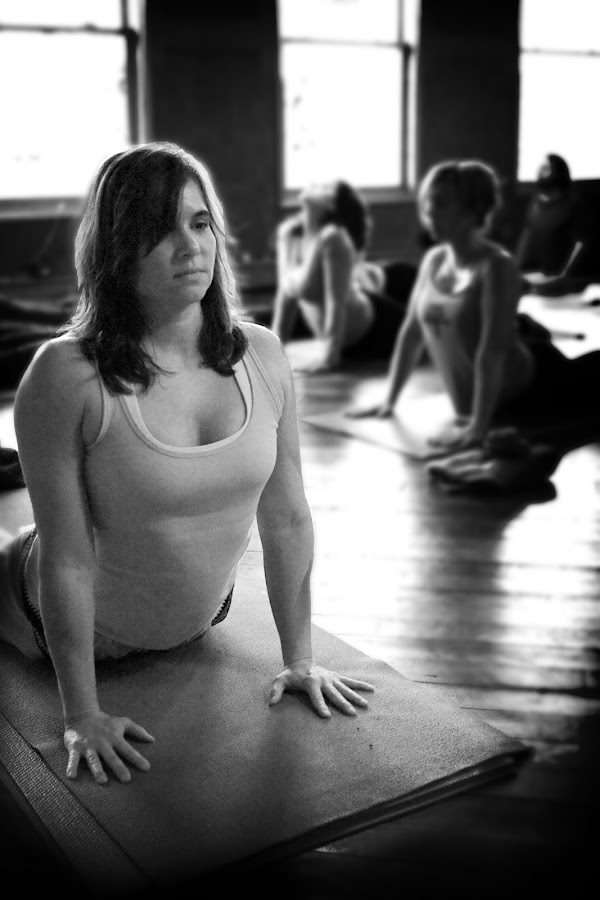 Yoga Studio by Bill  Brokaw - People Portraits of Women ( women. yoga, brokaw )