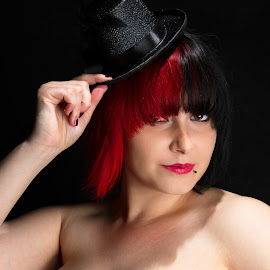Ringmaster (or Ringmistress?) by Ty Williams - People Musicians & Entertainers
