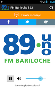 FM Bariloche 89.1 - screenshot