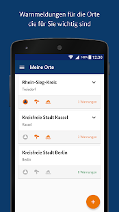 NINA - Die Warn-App des BBK Screenshot